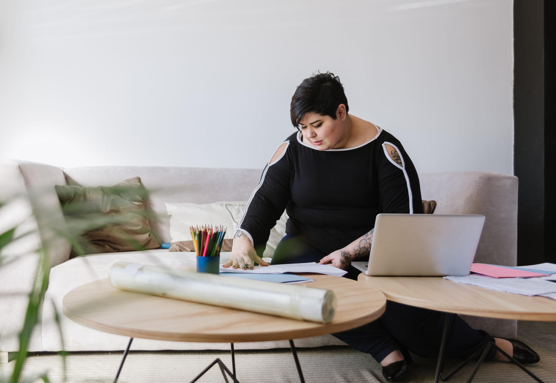 Canva - Woman at Work