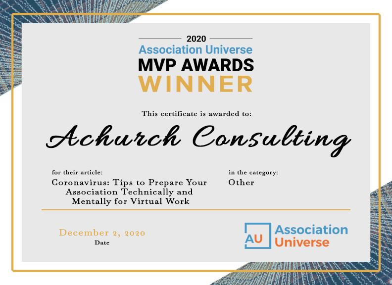Certificate_Achurch Consulting