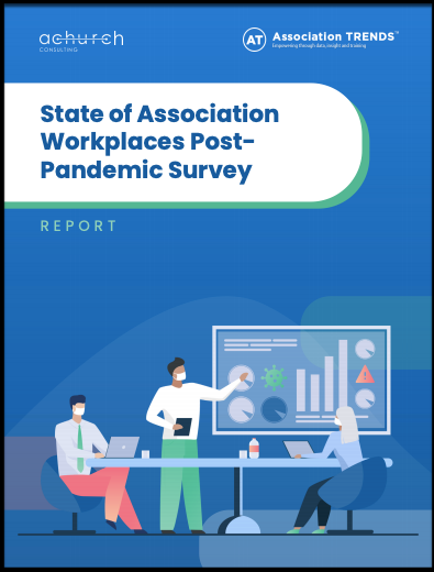 State of Association Workplaces Post-Pandemic Survey Report cover